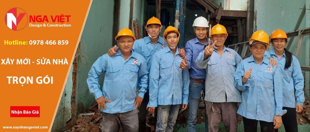 Dịch vụ sửa chữa nhà chuyện nghiệp tại quận 8 - Nga Việt